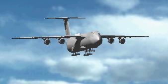 Planos de Avión de transporte de carga, en Aeronaves en 3d – Medios de transporte