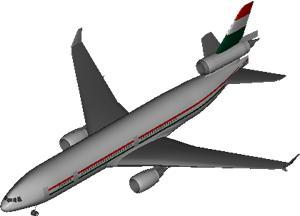 Planos de Avion mc donell duglas dc-10, en Aeronaves en 3d – Medios de transporte