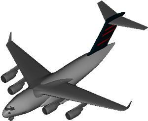 Planos de Avion md 17, en Aeronaves en 3d – Medios de transporte