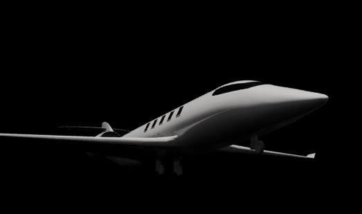 Avion privado 3d, en Aeronaves en 3d – Medios de transporte