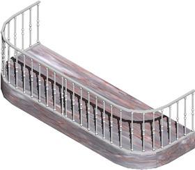 imagen Balcon con barandilla, en Balcones - Aberturas