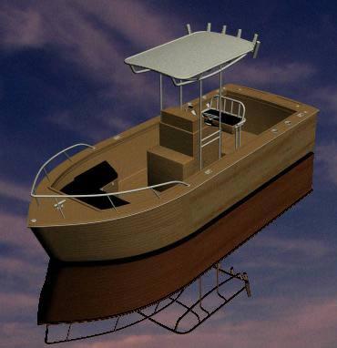 imagen Balsa 3d, en Embarcaciones - Medios de transporte