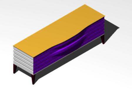 Planos de Bambu 3d, en Muebles varios – Muebles equipamiento