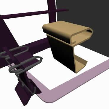 Banca sosten 3d, en Muebles varios – Muebles equipamiento
