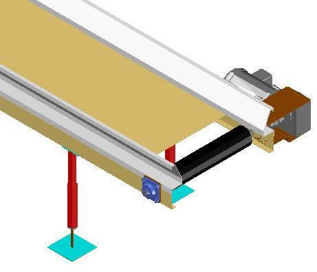 imagen Banda transportadora 3d, en Maquinaria para industria de la alimentación - Máquinas instalaciones