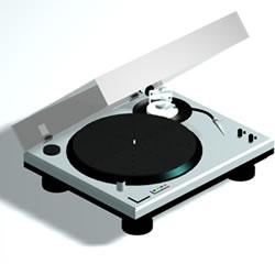 Bandeja de discos, en Electrodomésticos – Muebles equipamiento