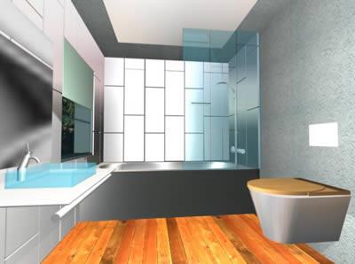 Baño completo, en Baños – Muebles equipamiento