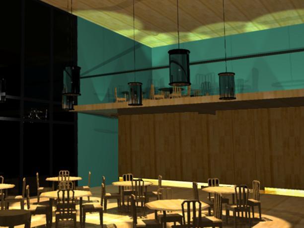 Planos de Bar 3d, en Comedores – Proyectos