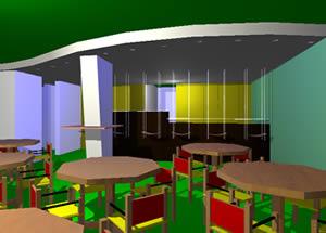 Planos de Bar columpios, en Comedores – Proyectos