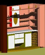 imagen Bar en 3d, en Muebles varios - Muebles equipamiento