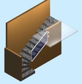 imagen Barandal de escalera 3d, en Barandas - Escaleras
