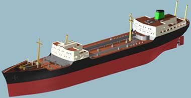 Barco texaco 3d max, en Embarcaciones – Medios de transporte