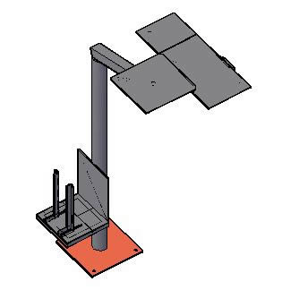 Planos de Base para almacenaje de partes de motor, en Maquinaria e instalaciones industriales – Máquinas instalaciones