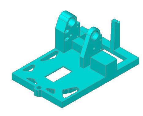 Planos de Bastidor copiadora de llaves 3d, en Maquinaria – proyectos varios – Máquinas instalaciones