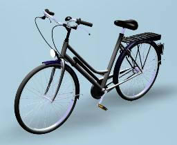 Bicicleta 3d, en Motos y bicicletas – Medios de transporte