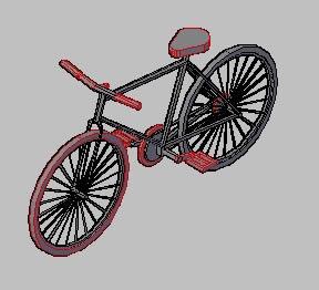 Planos de Bicicleta 3d, en Motos y bicicletas – Medios de transporte