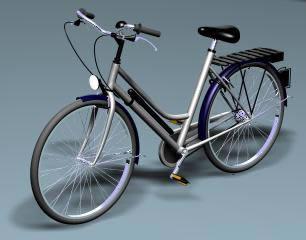 Bicicleta, en Motos y bicicletas – Medios de transporte