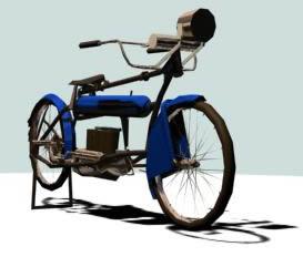Bicicleta para afilador 3d, en Motos y bicicletas – Medios de transporte