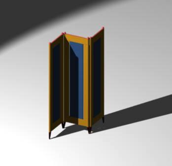 Planos de Biombo 3d, en Muebles varios – Muebles equipamiento