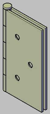 imagen Bisagra de libro 3 x 3, en Herrajes cerraduras tornillos - Aberturas