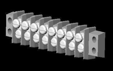 imagen Bloque de tornillos, en Roscas normalizadas - Máquinas instalaciones