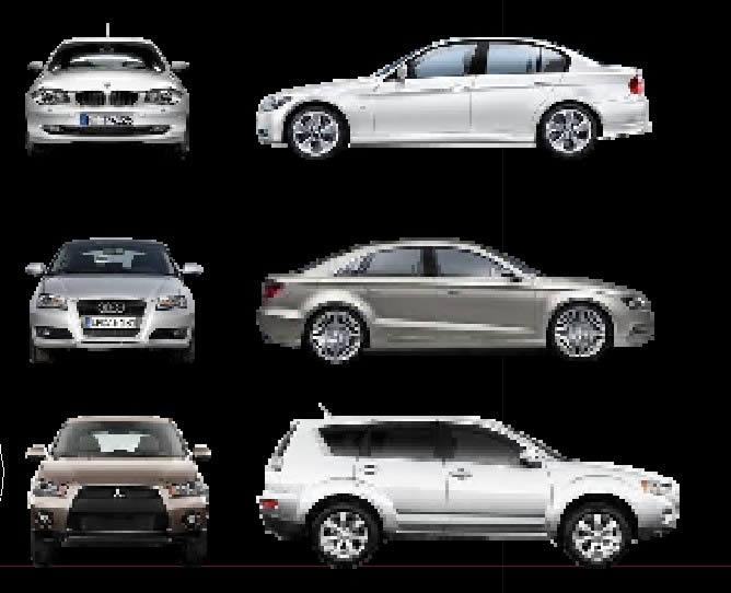Planos de Bloque de vehiculos, en Automóviles en 2d – Medios de transporte