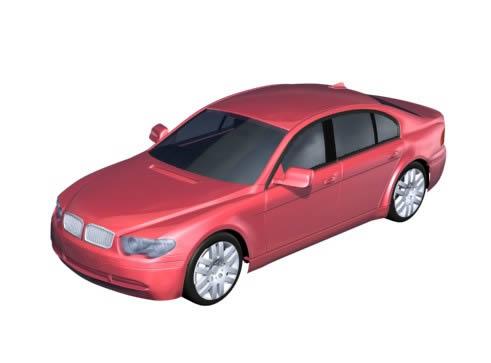imagen Bmw - automovil 3d, en Automóviles en 3d - Medios de transporte