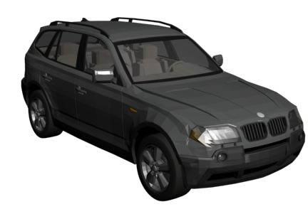 Bmw x3 3d, en Automóviles en 3d – Medios de transporte