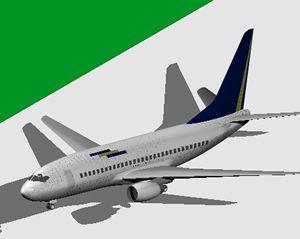 Planos de Boeing 737- 300 next generation, en Aeronaves en 3d – Medios de transporte