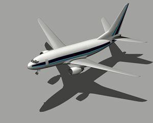 Planos de Boeing 737, en Aeronaves en 3d – Medios de transporte