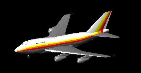 Planos de Boing 747-sp, en Aeronaves en 3d – Medios de transporte