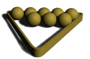 Bolas de pool, en Juegos – Muebles equipamiento