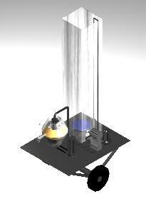 Planos de Bomba centrifuga 3d, en Equipos de bombeo – Máquinas instalaciones
