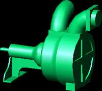 Planos de Bomba de agua, en Equipos de bombeo – Máquinas instalaciones