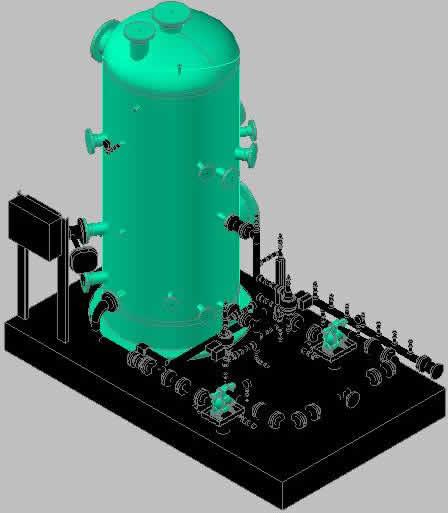 Planos de Bomba kod 3d, en Equipos de bombeo – Máquinas instalaciones