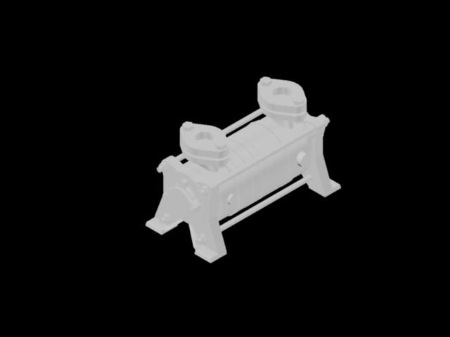 imagen Bombas 3d loh 25003, 25007, 25309, en Plantas industriales - Proyectos