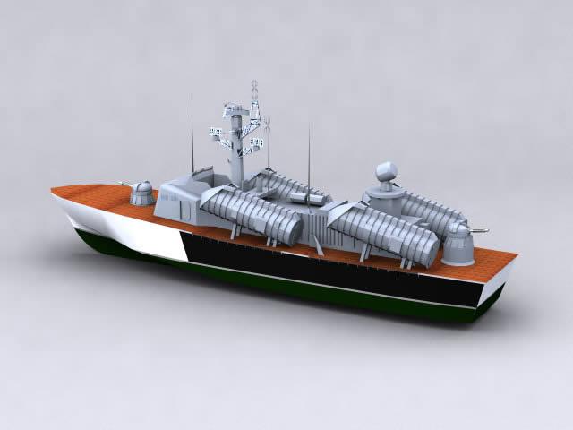 imagen Bote 3d, en Embarcaciones - Medios de transporte