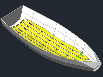 Planos de Bote 3d, en Embarcaciones – Medios de transporte