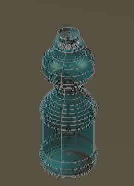 Planos de Botella plastica 3d, en Objetos varios – Muebles equipamiento