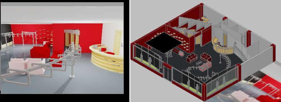 Planos de Boutique 3d, en Comercios varios – Proyectos