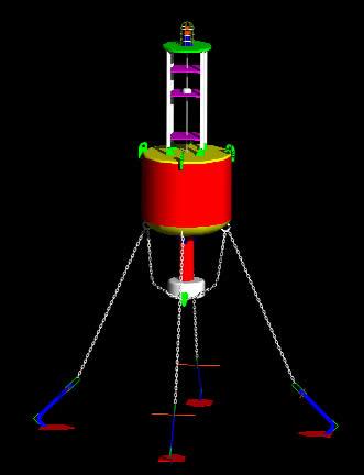 imagen Boya oceanica 3d, en Embarcaciones - Medios de transporte