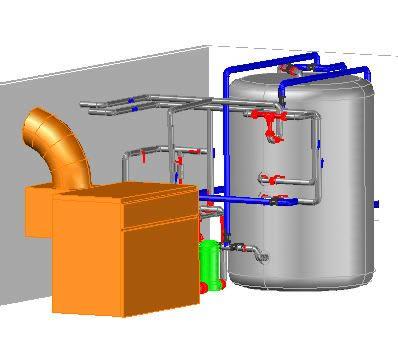 imagen Boyler 3d, en Calefacción - Climatización
