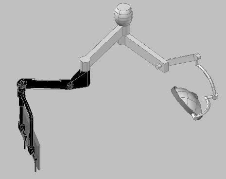 Planos de Braáo cirurgico – brazo quirurgico 3d, en Equipamiento – Hospitales