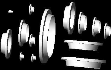 Planos de Bridas 14-150, en Válvulas tubos y piezas – Máquinas instalaciones