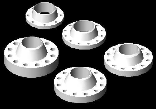 imagen Bridas de 6 pulgadas distintos calibres, en Válvulas tubos y piezas - Máquinas instalaciones