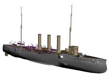 Buque 3d, en Embarcaciones – Medios de transporte
