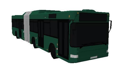 imagen Bus articulado 3d, en Autobuses - Medios de transporte