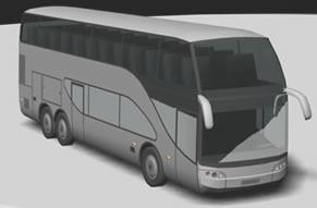 Bus cama 3d, en Autobuses – Medios de transporte