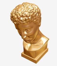 imagen Busto 3d, en Pérgolas fuentes y elementos decorativos - Parques paseos y jardines