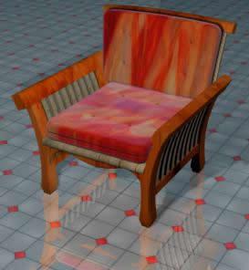 Butaca 3d, en Butacas – Muebles equipamiento
